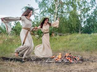 Ancient Fire Jumping