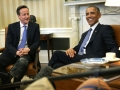 Barack Obama said David Cameron had risked damaging the 'special relationship' Getty